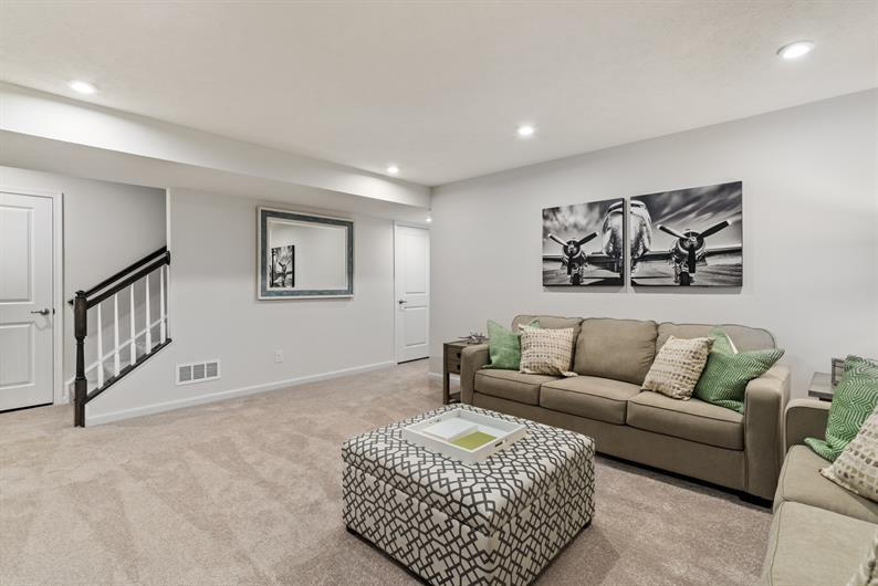INCLUDED FULL BASEMENTS ARE THE PERFECT SPOT FOR ADDITIONAL STORAGE, OR FINISH FOR MORE LIVING SPACE