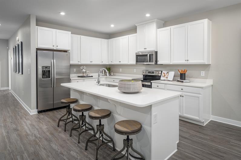 Beautiful Kitchen without the mess
