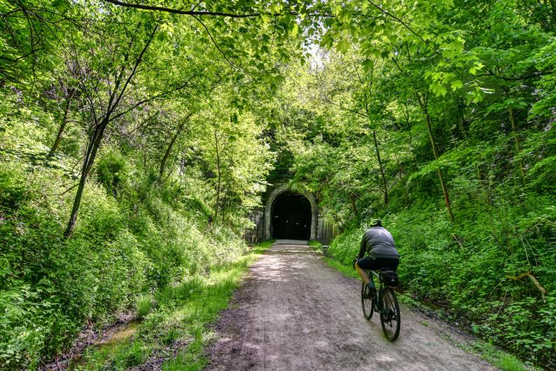 Located on the Montour Trail