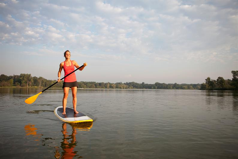 Kayak and Paddle Board Footsteps From Your Front Door