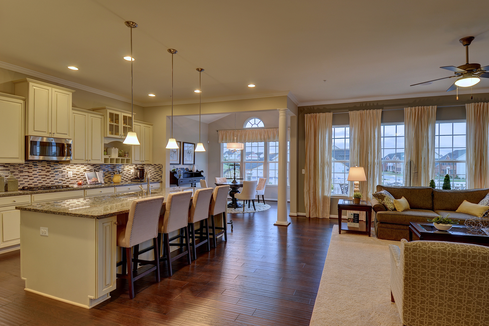 New springmanor home model at laurel grove one level for Heartland homes pittsburgh floor plans