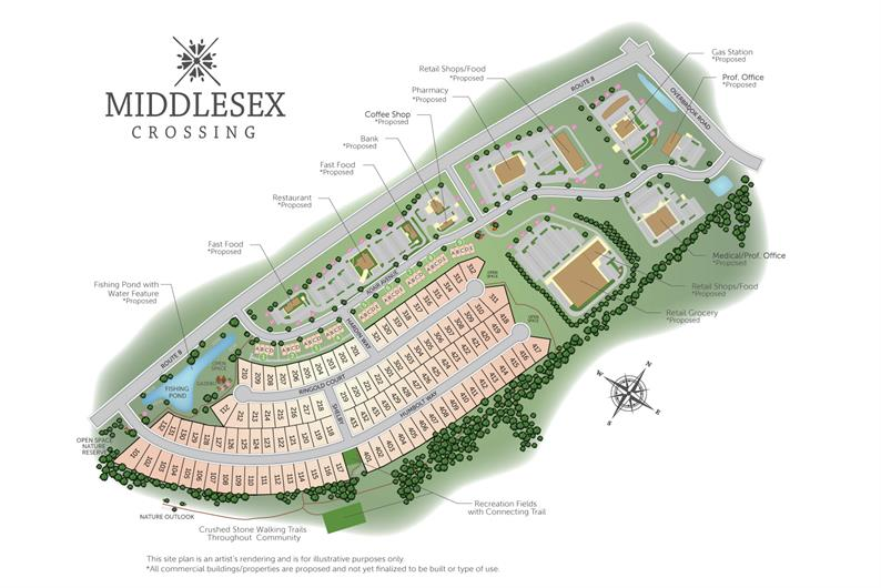 Middlesex Crossing Community Site Plan