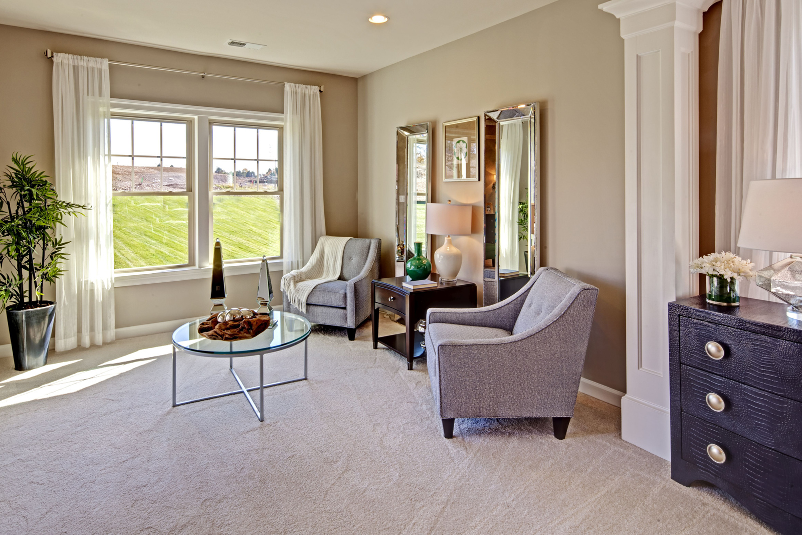 Your Master Suite can come with a large Sitting Room for added space.