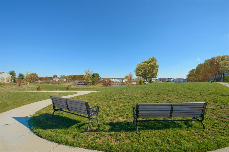 Take a sit or swing at the Pearson Park recreation area