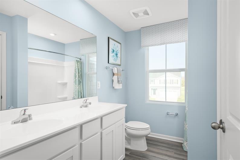Bathrooms with Double Vanities