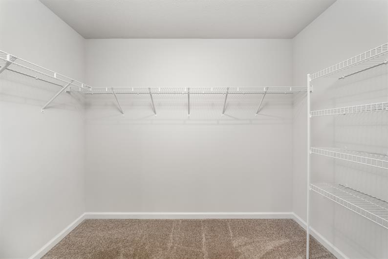 Closets for Days!