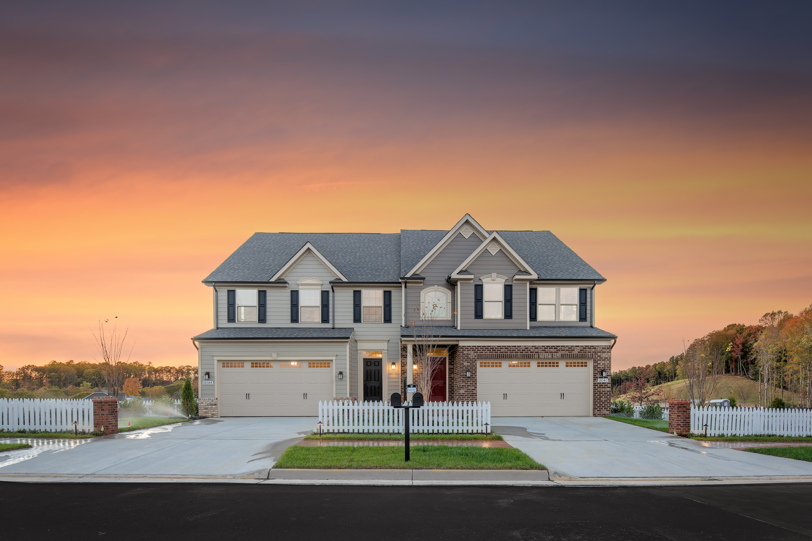 New Griffin-Hall Villa Model for sale at Madison Farms First Floor on