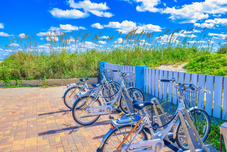 Hop On a Bike and Ride Through Jetty Park