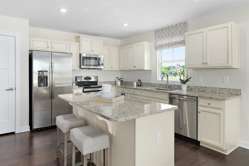 Enjoy the fun of selecting your dream kitchen
