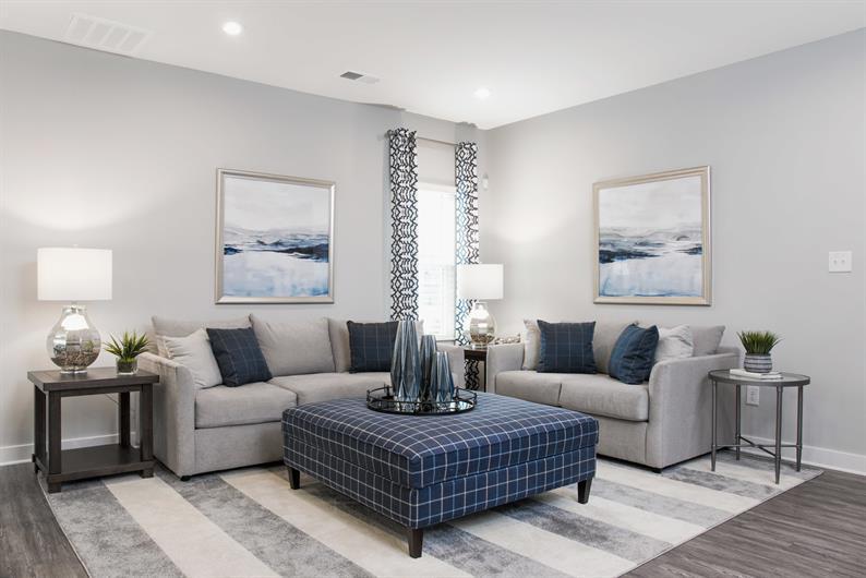Intimate yet spacious floorplans