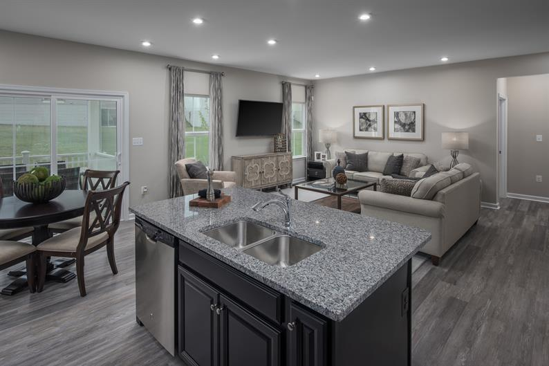 Open Concept Living Areas Connect Everything You Need