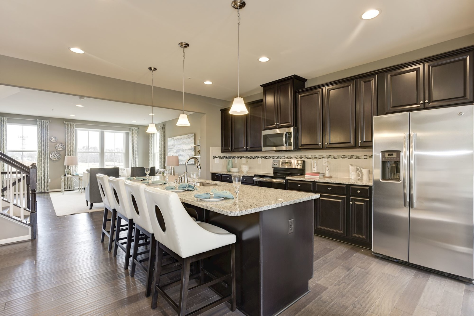 New Homes for sale at Ballard Green in Owings Mills MD within the – Ryan Homes Schubert Floor Plan