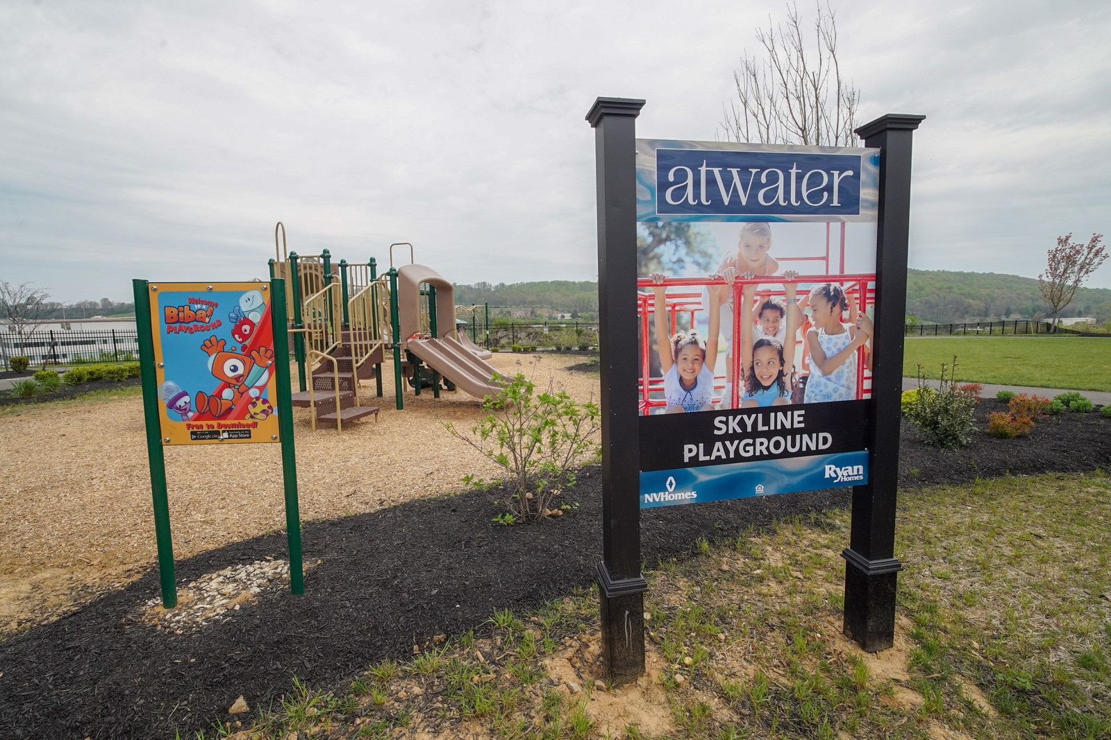 Walk over to one of 2 playgrounds within the community and enjoy the summer weather.