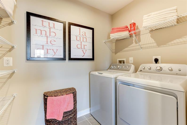 Laundry Room Just Steps Away