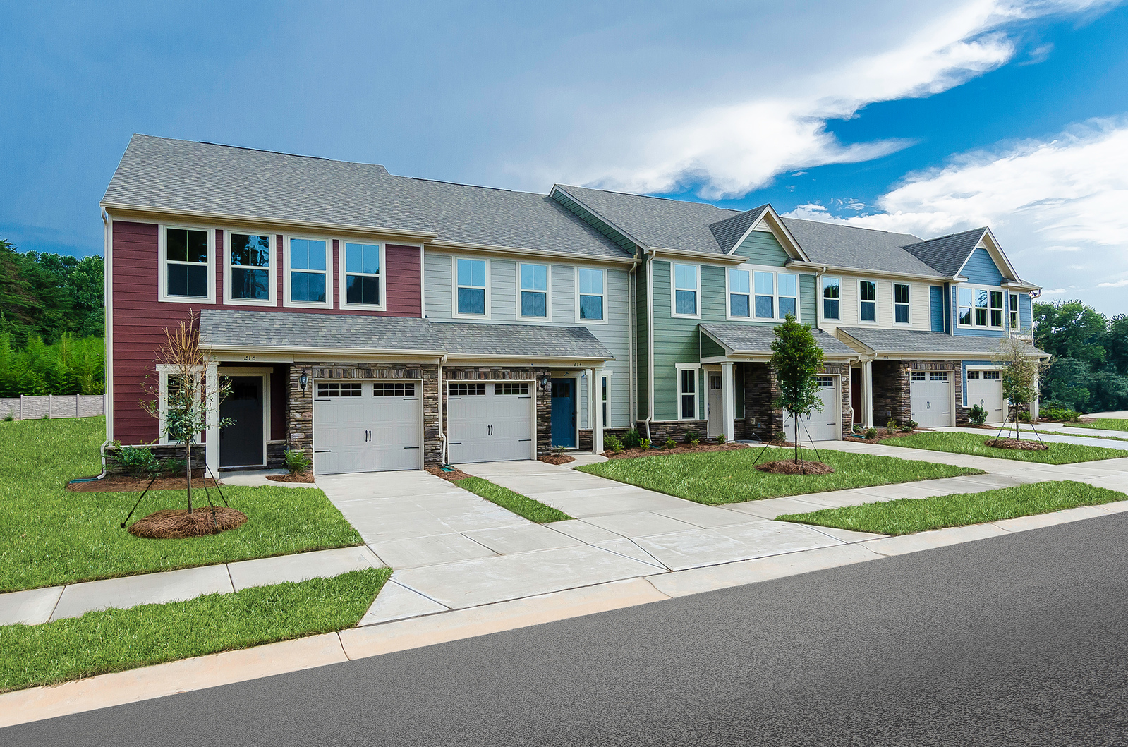 New Homes For Sale At Park Meadows In Stallings Nc Within The Union