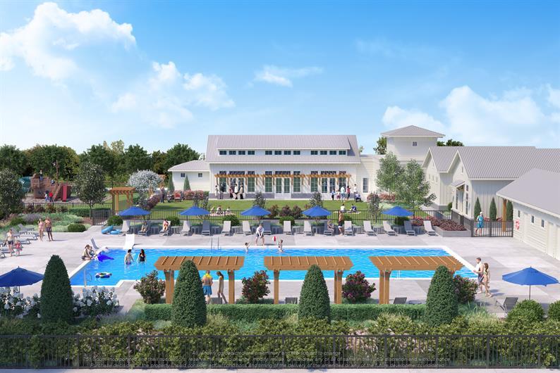 Resort-style pool opening soon!