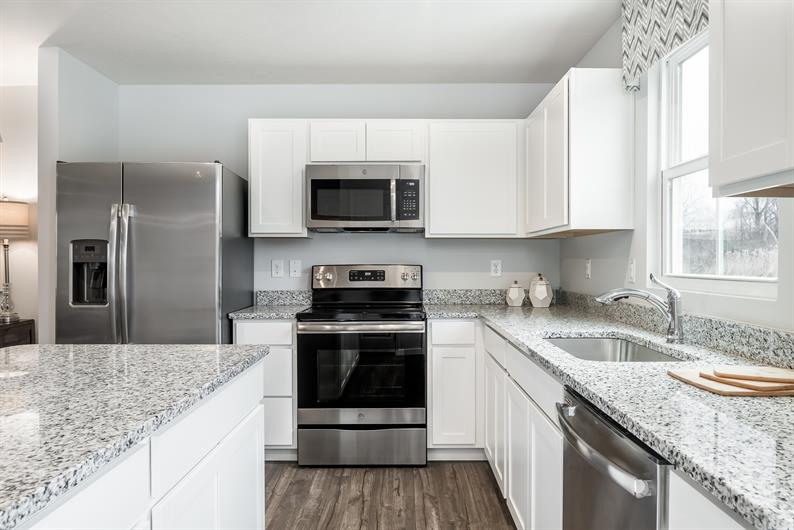 Move right in - all of your appliances are included!