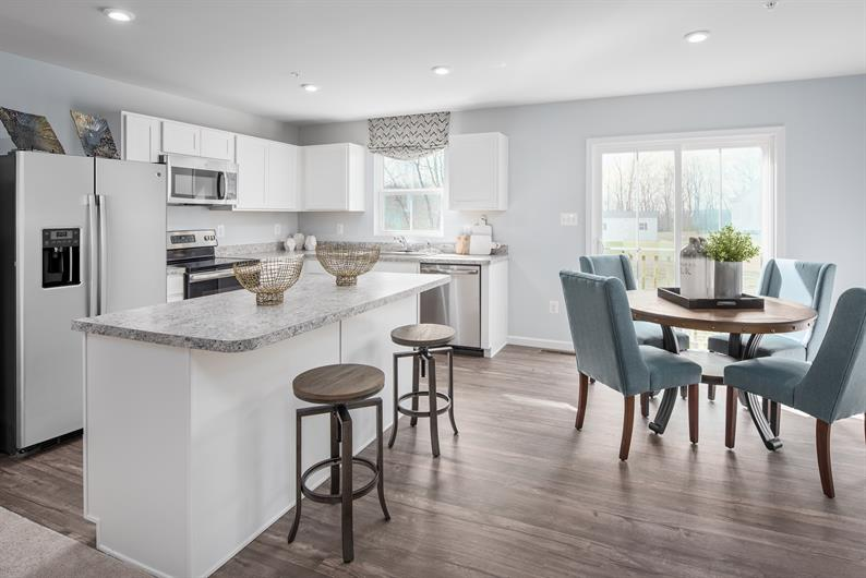 Choose from several open floorplans and modern designs