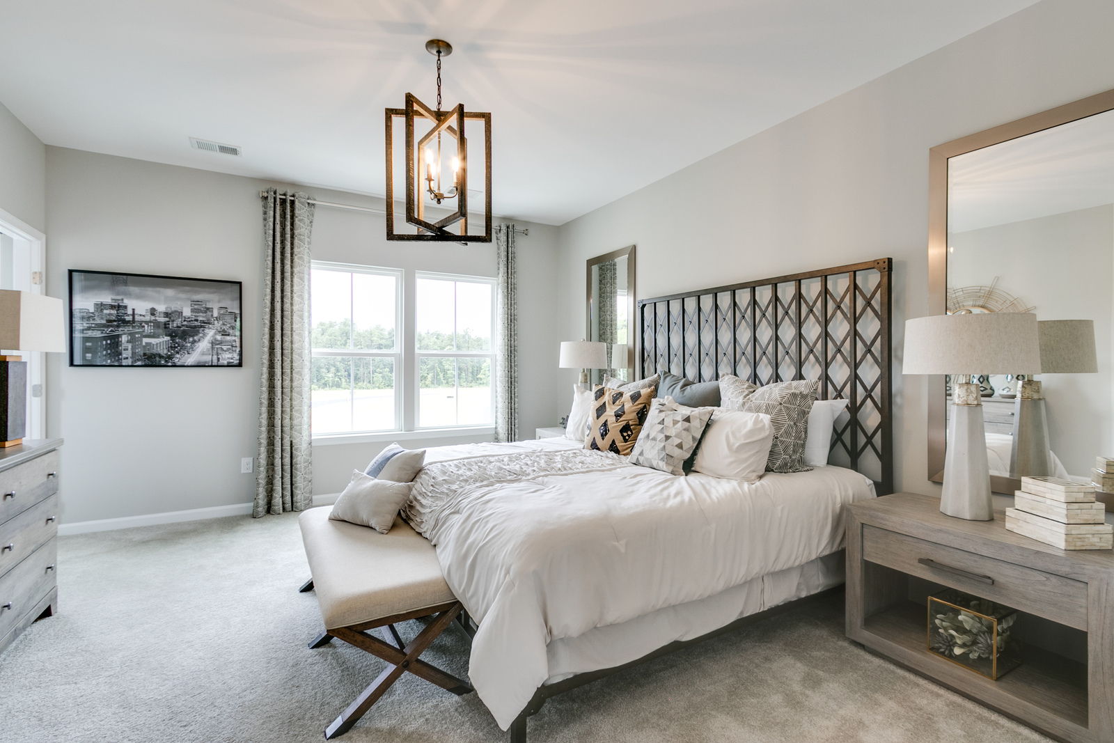 new strauss townhome model for sale at bryton square in huntersville nc. Black Bedroom Furniture Sets. Home Design Ideas