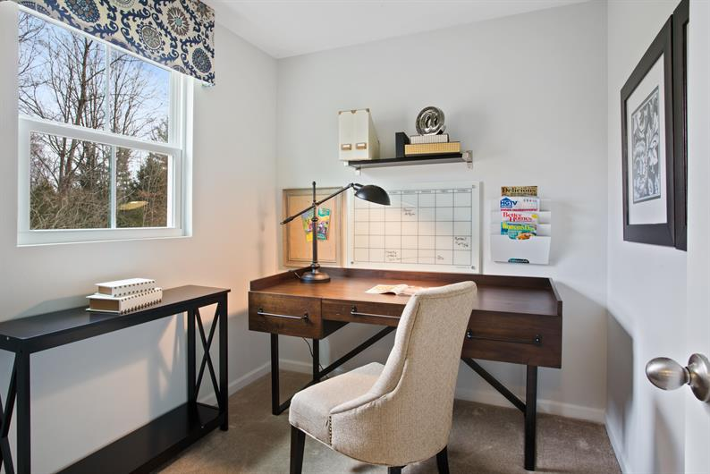 CHOOSE A FLOORPLAN WITH A FLEX SPACE PERFECT FOR A HOME OFFICE OR PLAYROOM