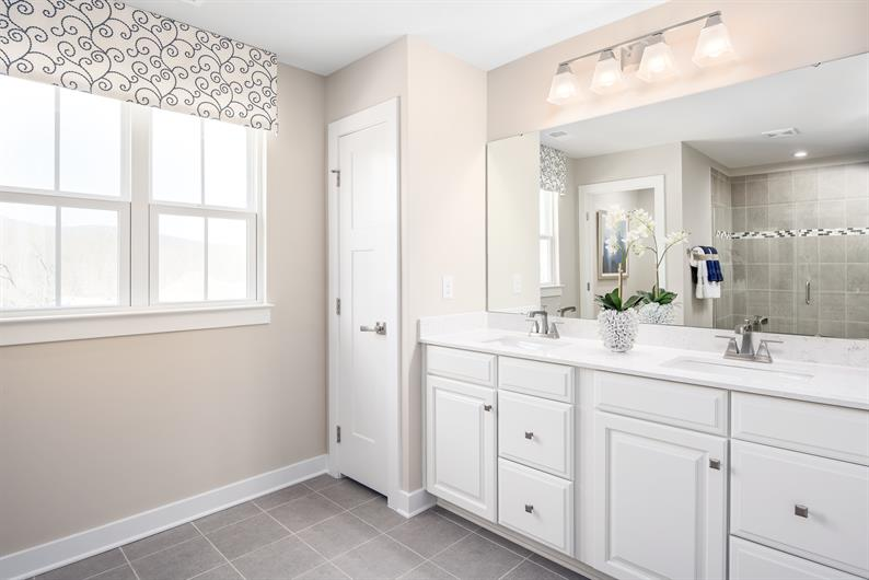 MORNING ROUTINES MADE EASY WITH DUAL VANITIES