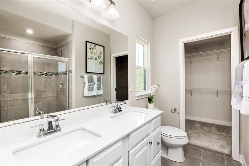 Owner's Bath Steps Away from the Bedroom