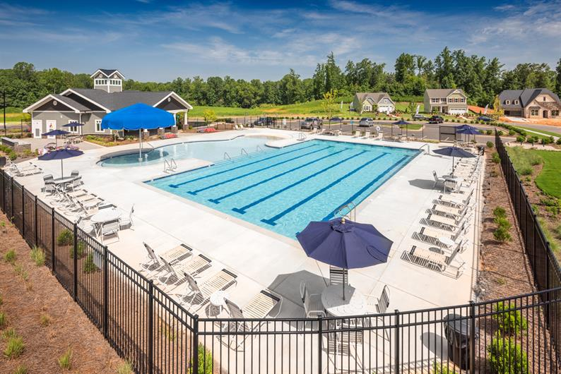 Amenities Include a Pool, Clubhouse, Soccer Fields, and More!