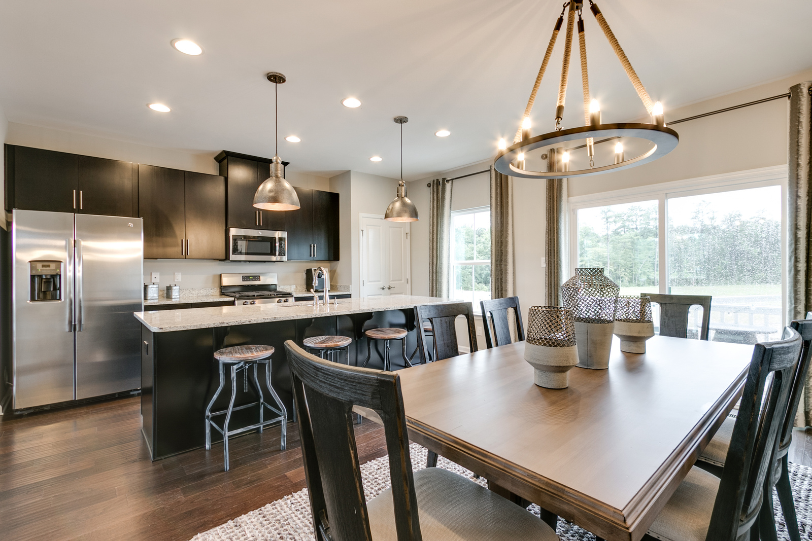 New homes for sale at oakleys bluff in richmond va cook dinner while the kiddos do their homework at the kitchen island theres plenty of solutioingenieria Images