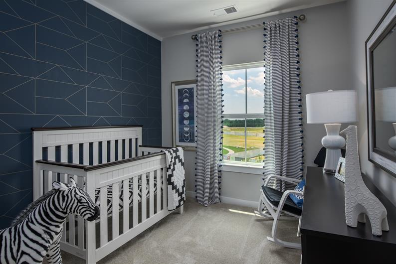 Sizable Secondary Bedrooms