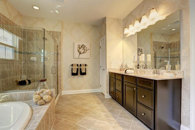 Enjoy luxury bathrooms you won't find in older city homes
