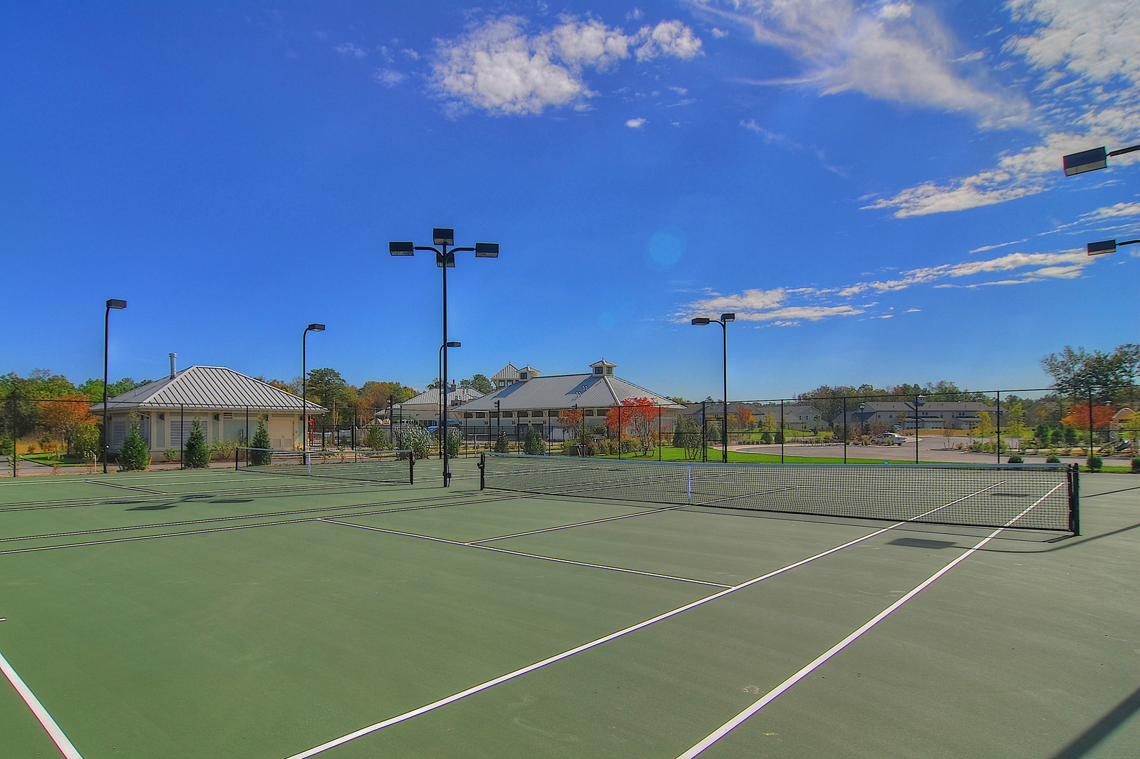 From tennis courts to bocce ball and volleyball sand pits, there is always something to do and fun to be had at Bay Forest