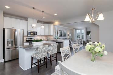 New Construction Townhomes For Sale -Mozart-Attic-Ryan Homes