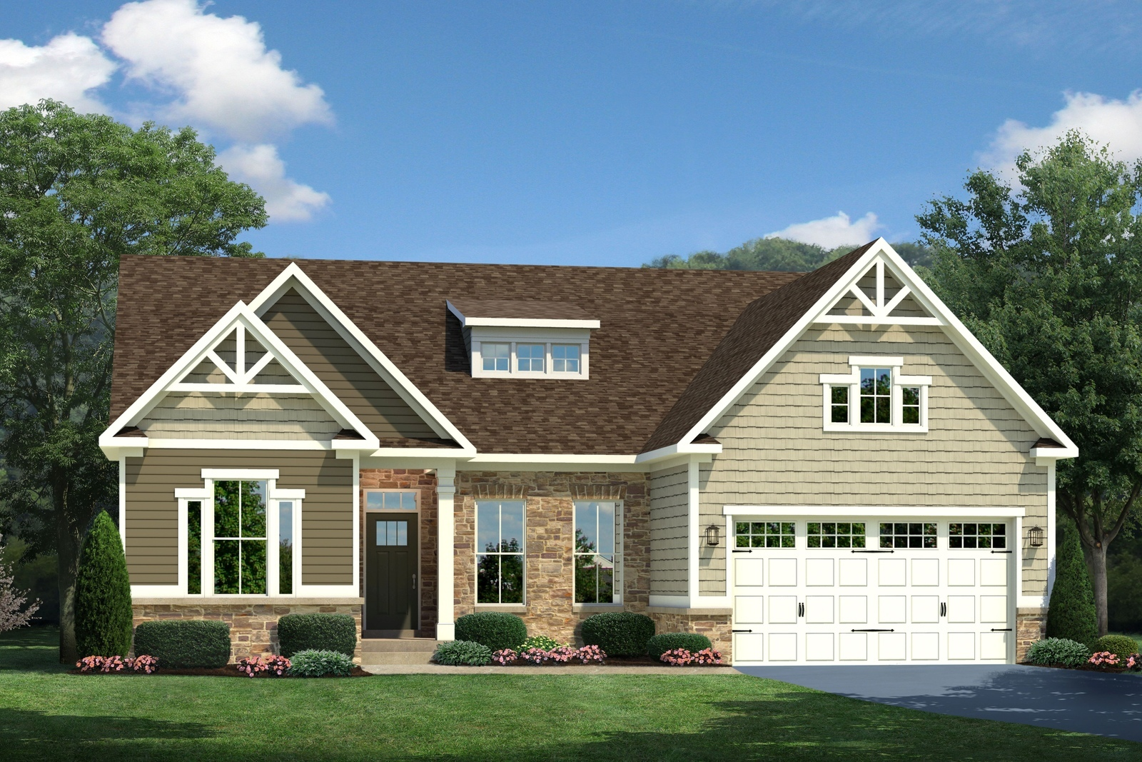 New springmanor home model for sale at turnberry in fishers in for Ryan homes design center maryland