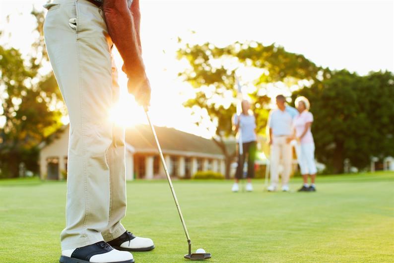 A golfer's paradise!
