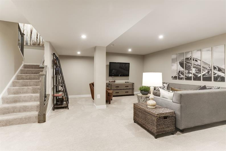 INCLUDED FINISHED BASEMENTS