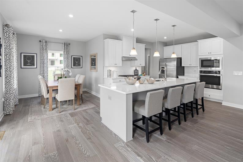 Open Concept Kitchens with Luxury Inclusions