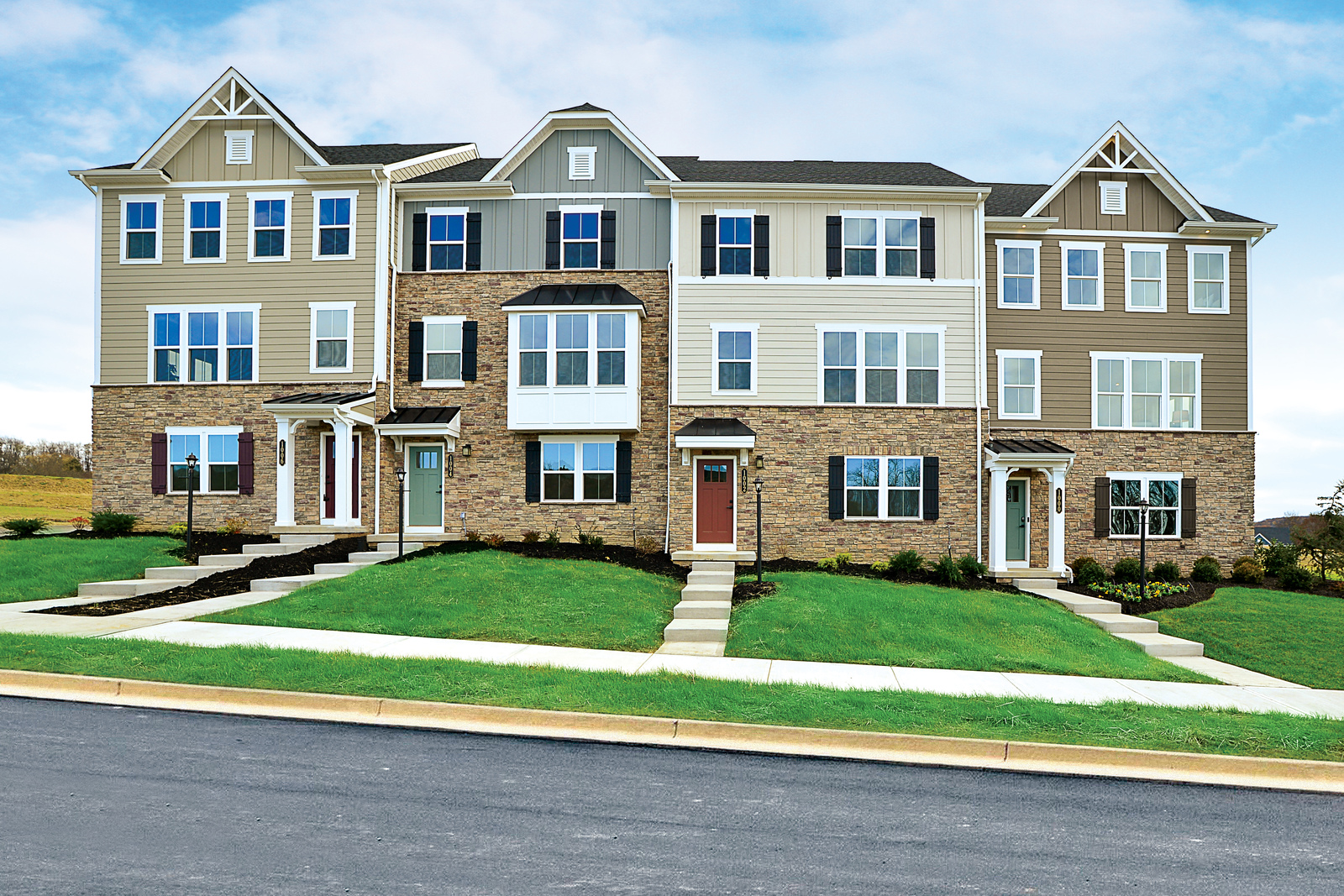 New Homes for sale at Townhomes At Middlesex Crossing in