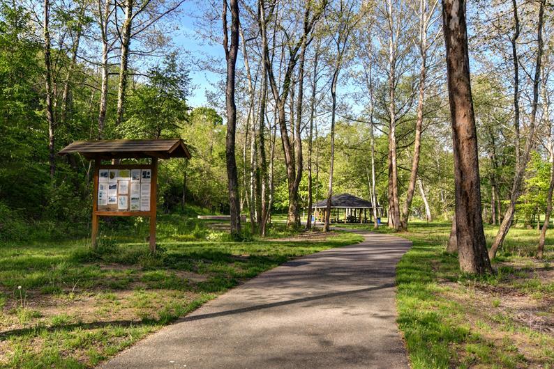 Montour Trail and Cecil Park