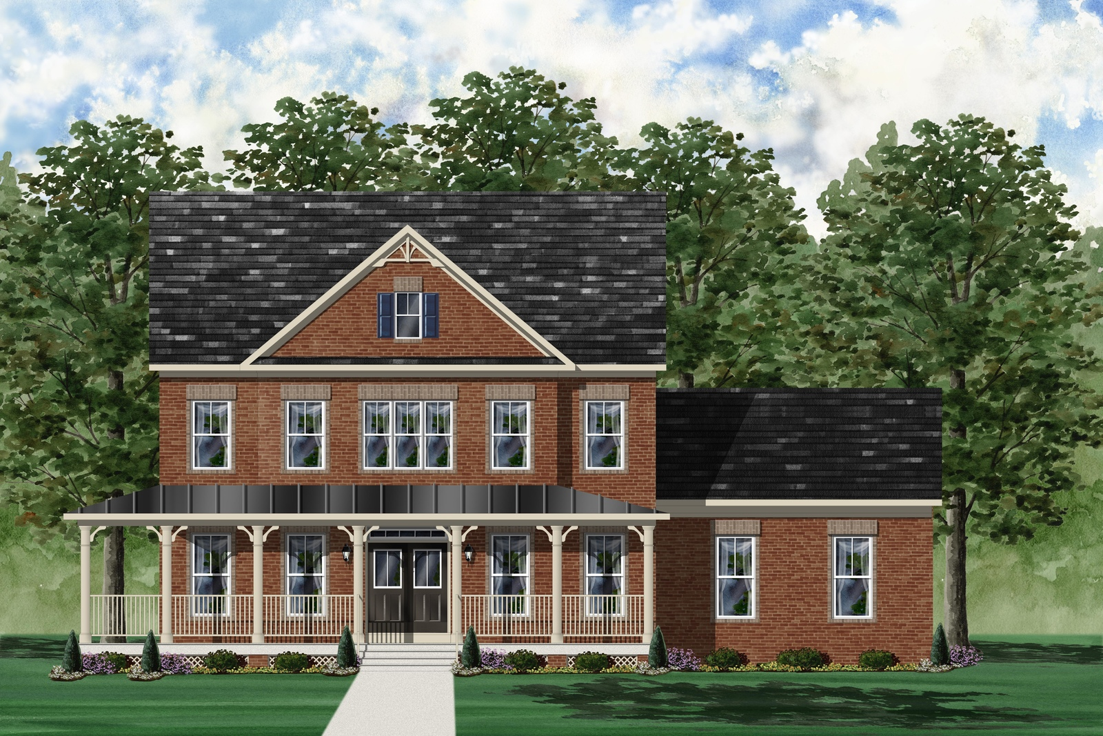 NVHomes Beaconsfield April 2016 Brick