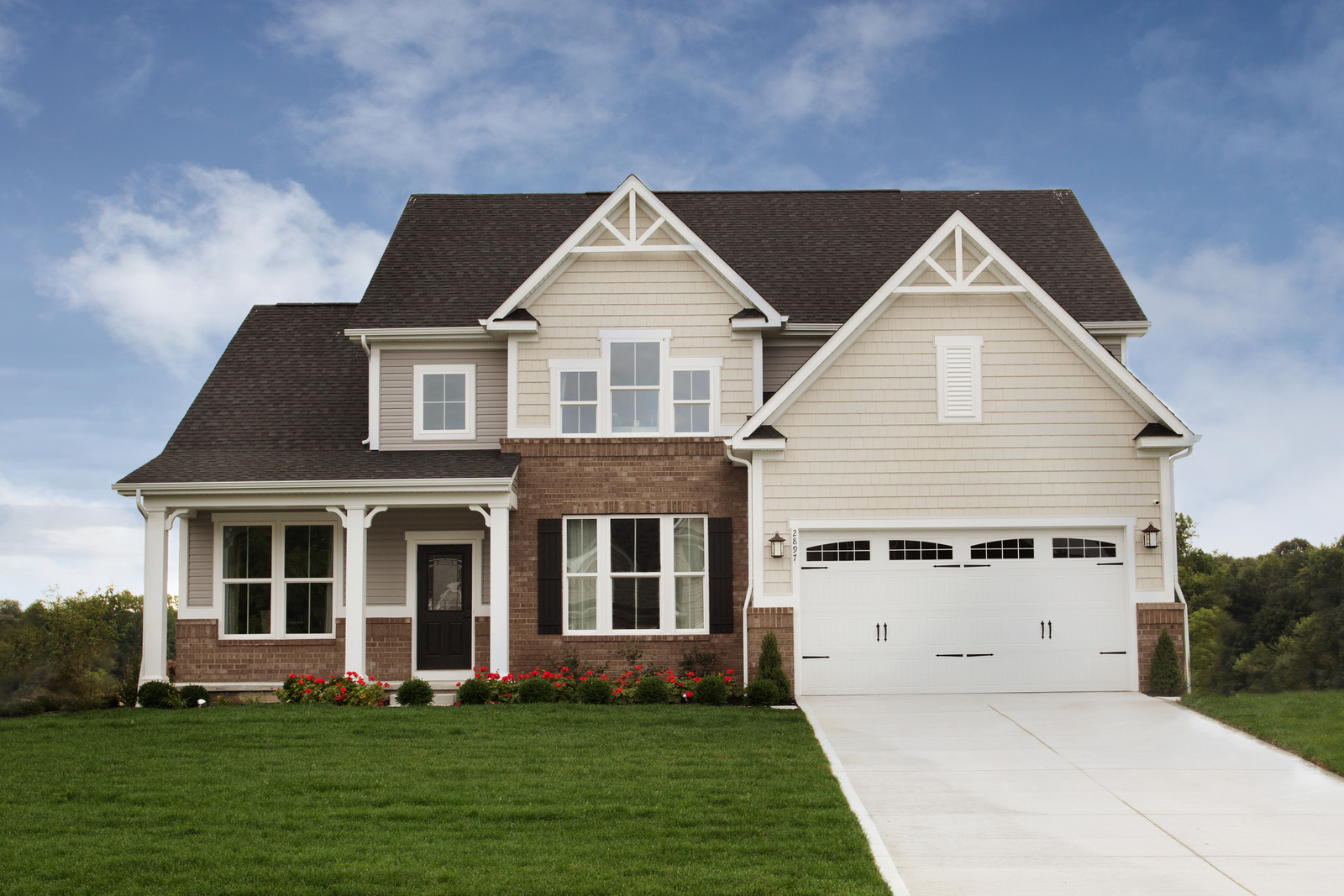 New Homes for sale at Hunting Meadows in Columbia Station