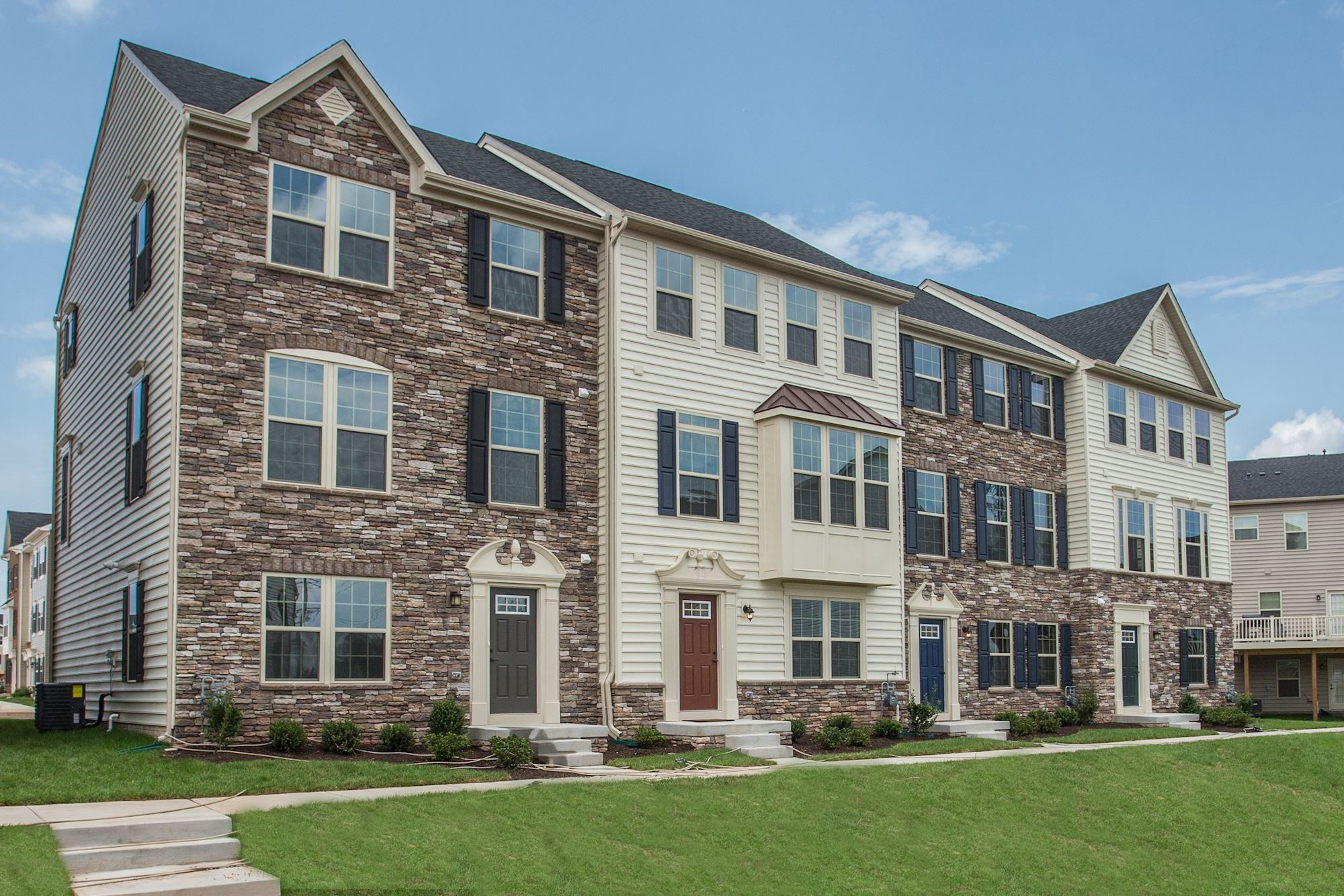 New Homes For Sale At Jefferson Place Townhomes In Frederick Md