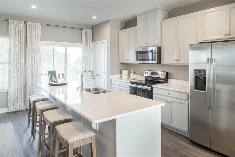 CHOOSE YOUR FAVORITE DESIGN FEATURES FOR YOUR NEW KITCHEN