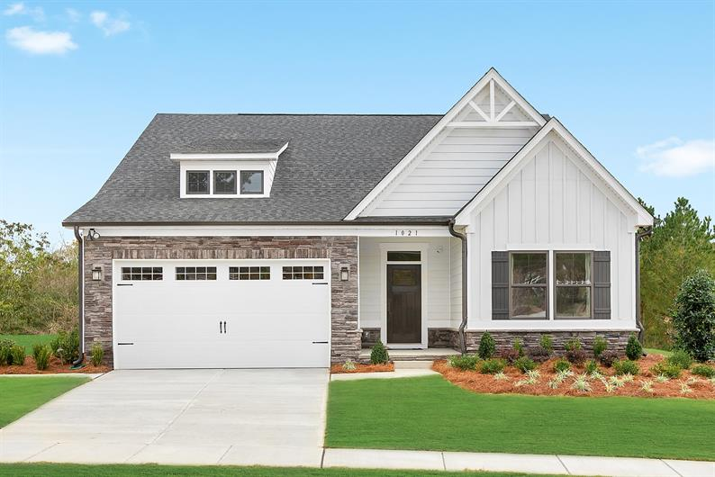 RANCH FLOORPLANS AVAILABLE FOR EASY MAIN-LEVEL LIVING