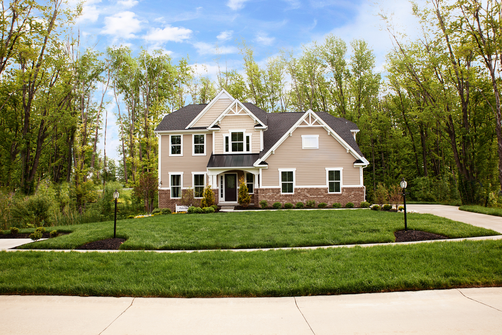 Come home to a beautiful home on the home site you've dreamed of- wooded backdrop or a mountain view!