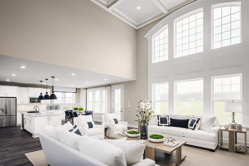 Airy Volume Ceilings