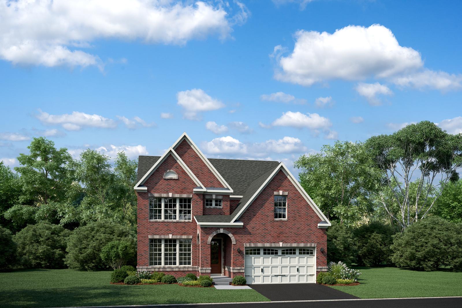 New Danville Home Model At Cabin Branch Clarksburg In Md