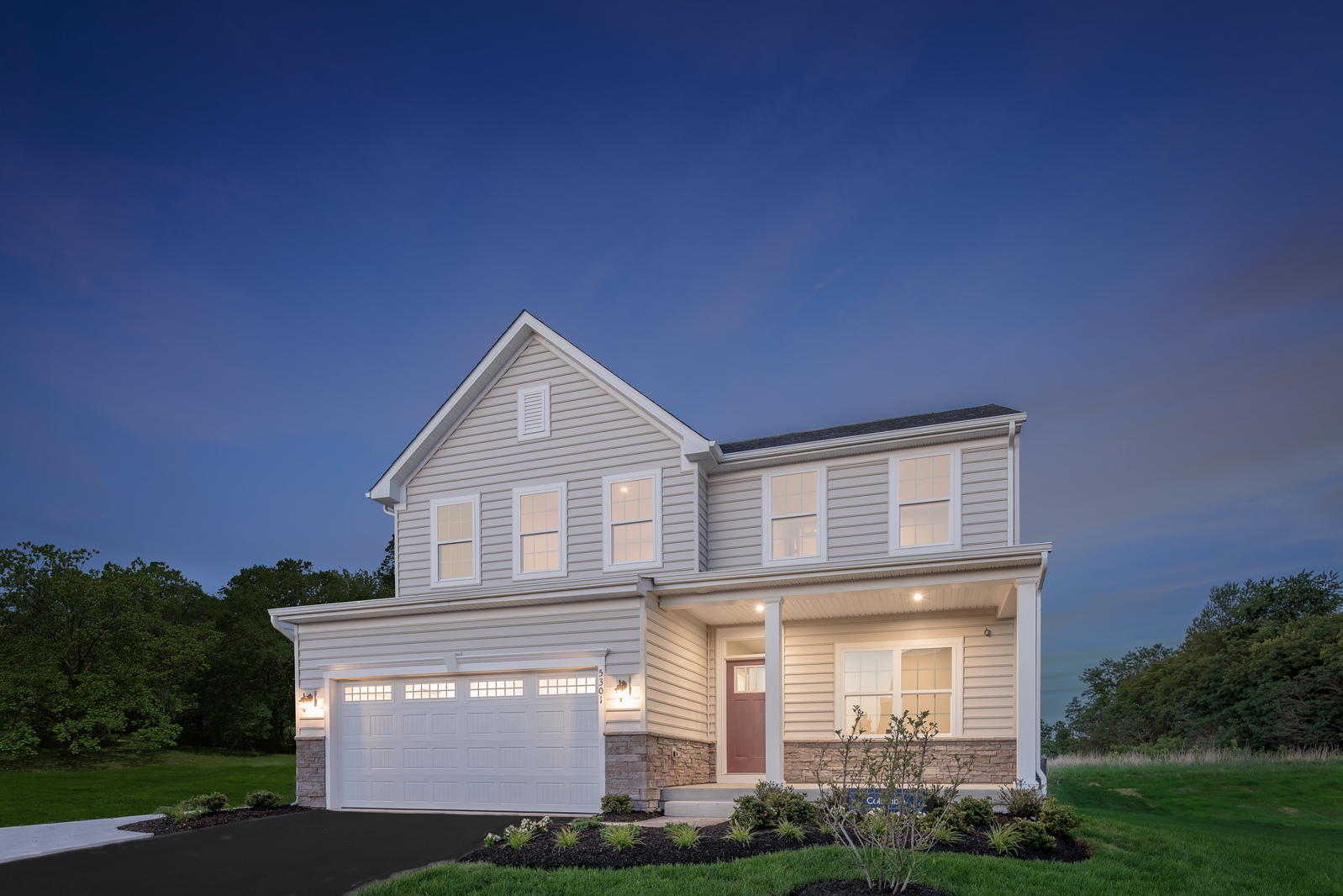 New Columbia Home Model For Sale At Silverwood In Yorktown Va