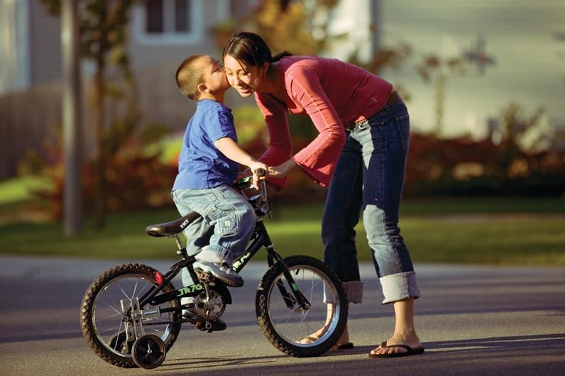 Enjoy an evening walk on the community sidewalks and to the community playground