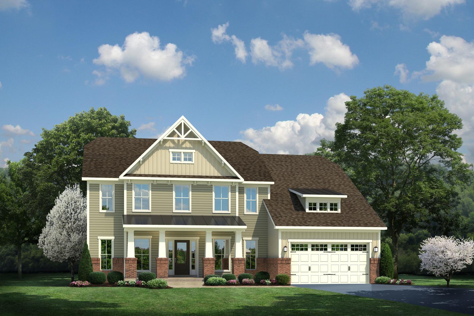 New Courtland Gate Home Model For Sale Heartland Homes