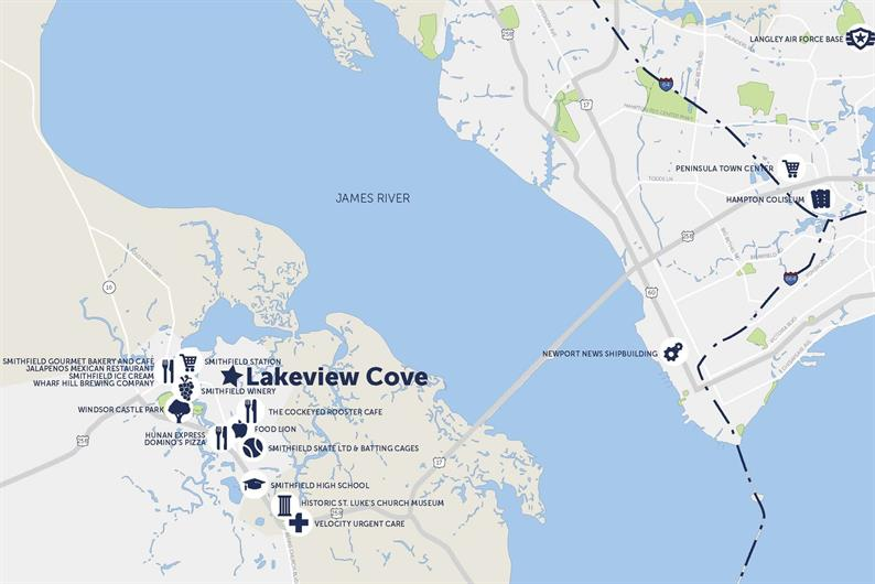 Where is Lakeview Cove exactly?